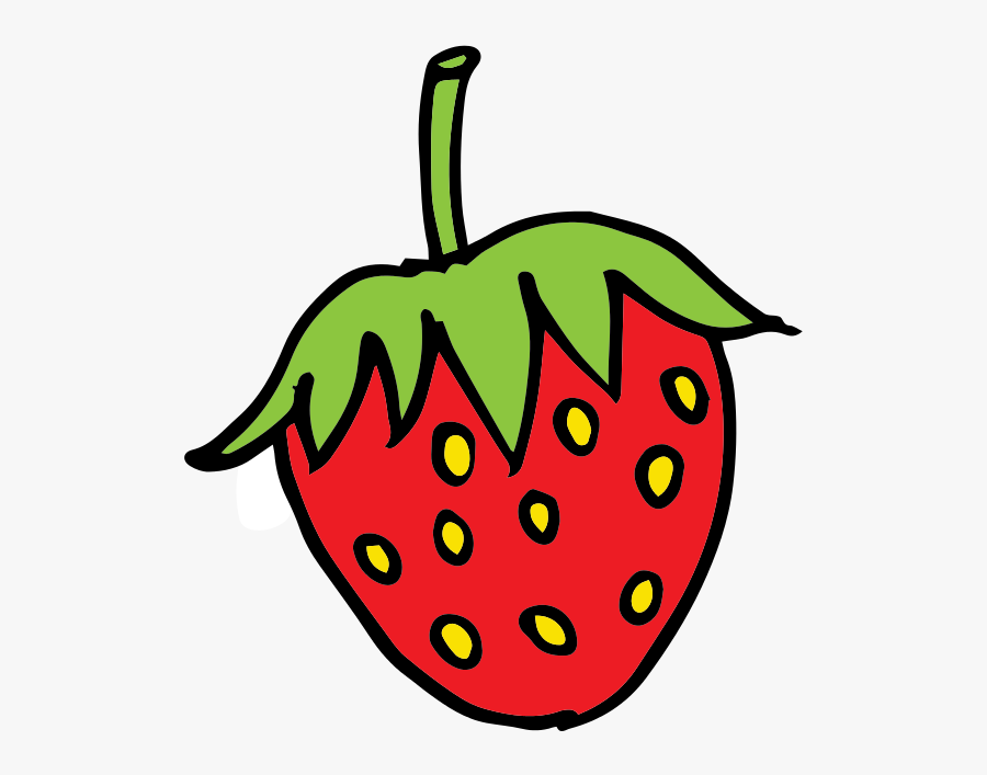 Strawberry Clipart Strawberryclipart Fruit Clip Art - Strawberry Clipart, Transparent Clipart