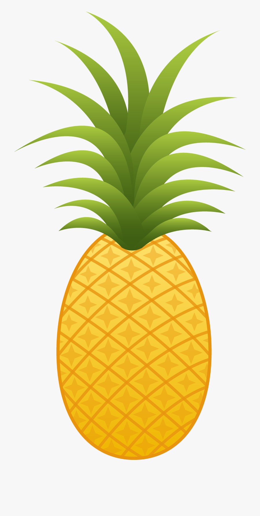 Free Funky Custom Cliparts - Pineapple Clipart Png, Transparent Clipart