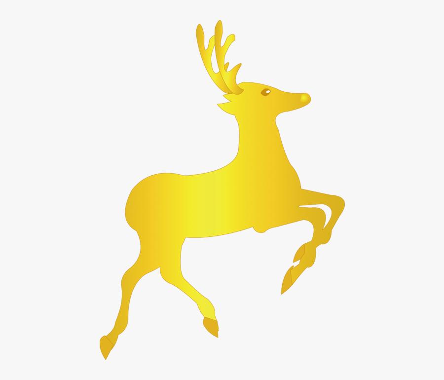 Reindeer Pxe Re Davids Deer Clip Art - วาด รุ ป กวาง เร น เดีย, Transparent Clipart