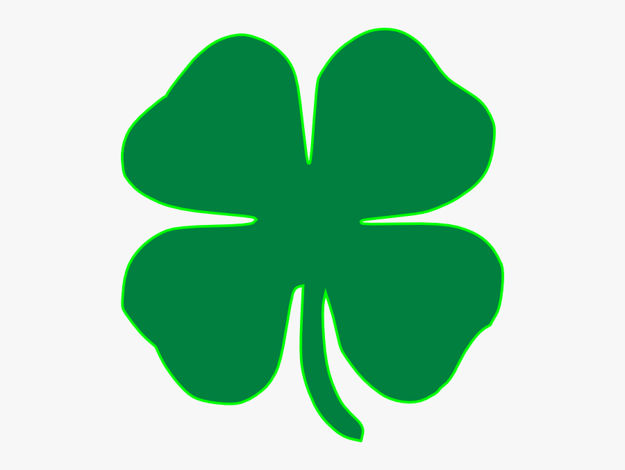 Public Domain Clip Art Shamrocks St Patricks Day Shamrock - Four Leaf Clover Clip Art Free, Transparent Clipart