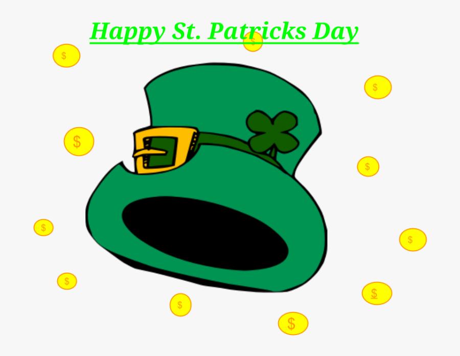 "St Patrick""s Day, March 17th - Leprechaun Face Clipart, Transparent Clipart"