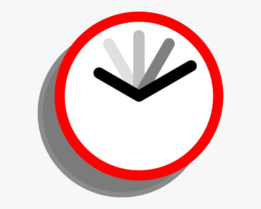 Clock Clip Art - Clipart Moving Clock, Transparent Clipart