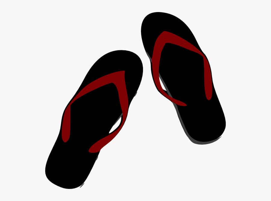 Image Royalty Free Clip Art At Clker Com Vector Online - Red Flip Flop Png, Transparent Clipart