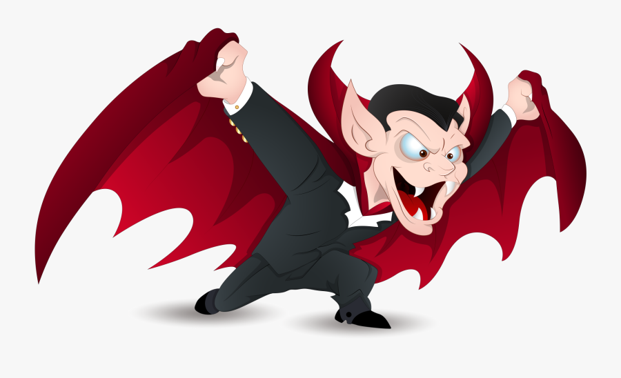 Count Dracula Vampire Royalty Free Clip Art - Halloween Vampire Clipart, Transparent Clipart