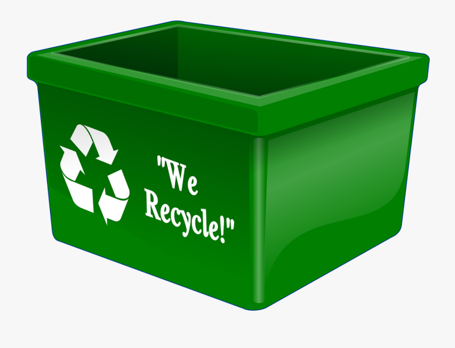 Issues Of The Environment - Recycling Bin, Transparent Clipart