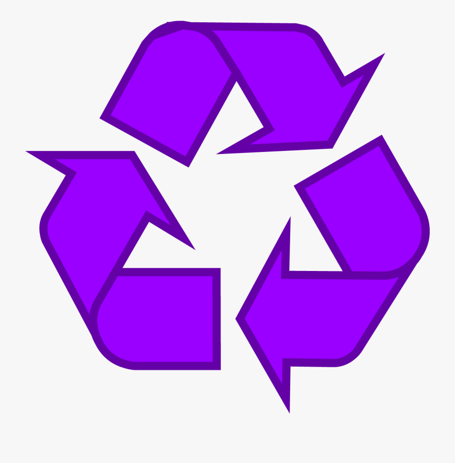 Recycle Clipart Recycling Sign - Pink Recycle Symbol, Transparent Clipart