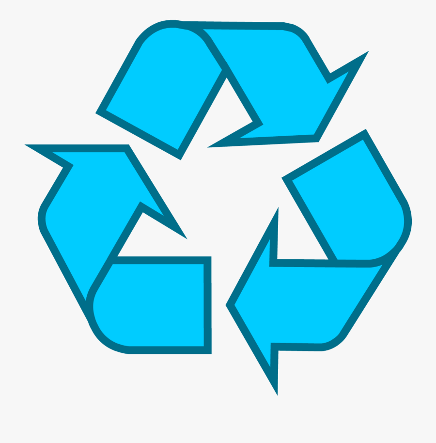 Recycling Symbol Icon Outline Sol - Reduce Reuse Recycle Transparent, Transparent Clipart