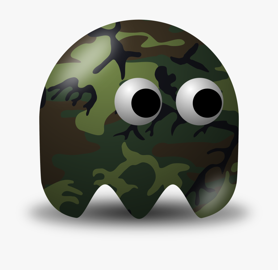 Military Png Photos - Brown Pac Man Ghost, Transparent Clipart