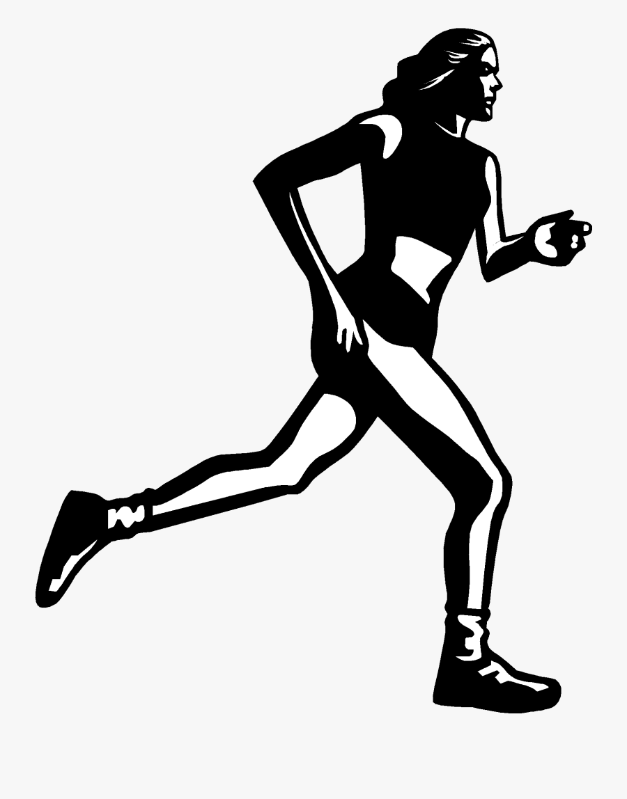 Transparent Girl Running Clipart - Blood Glucose And Physical Activity, Transparent Clipart