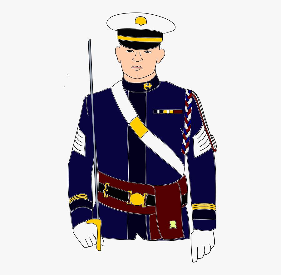 Ficer Gambar Animasi Angkatan Laut Free Transparent