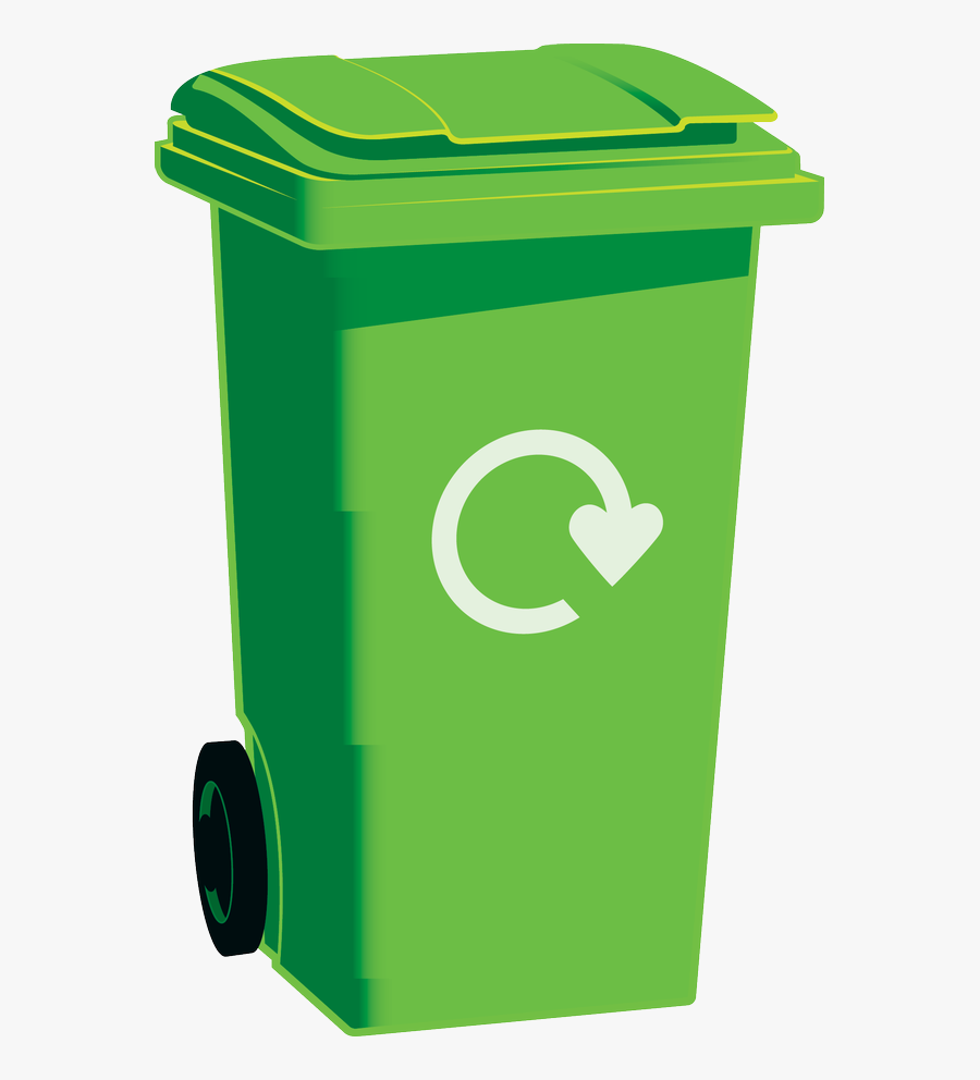 The Dos And Don - Green Recycling Bin Transparent, Transparent Clipart