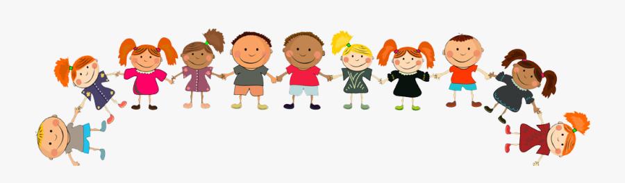 Jpg Royalty Free Download Children Holding Hands Clipart - Kids Holding Hands Clipart Transparent, Transparent Clipart