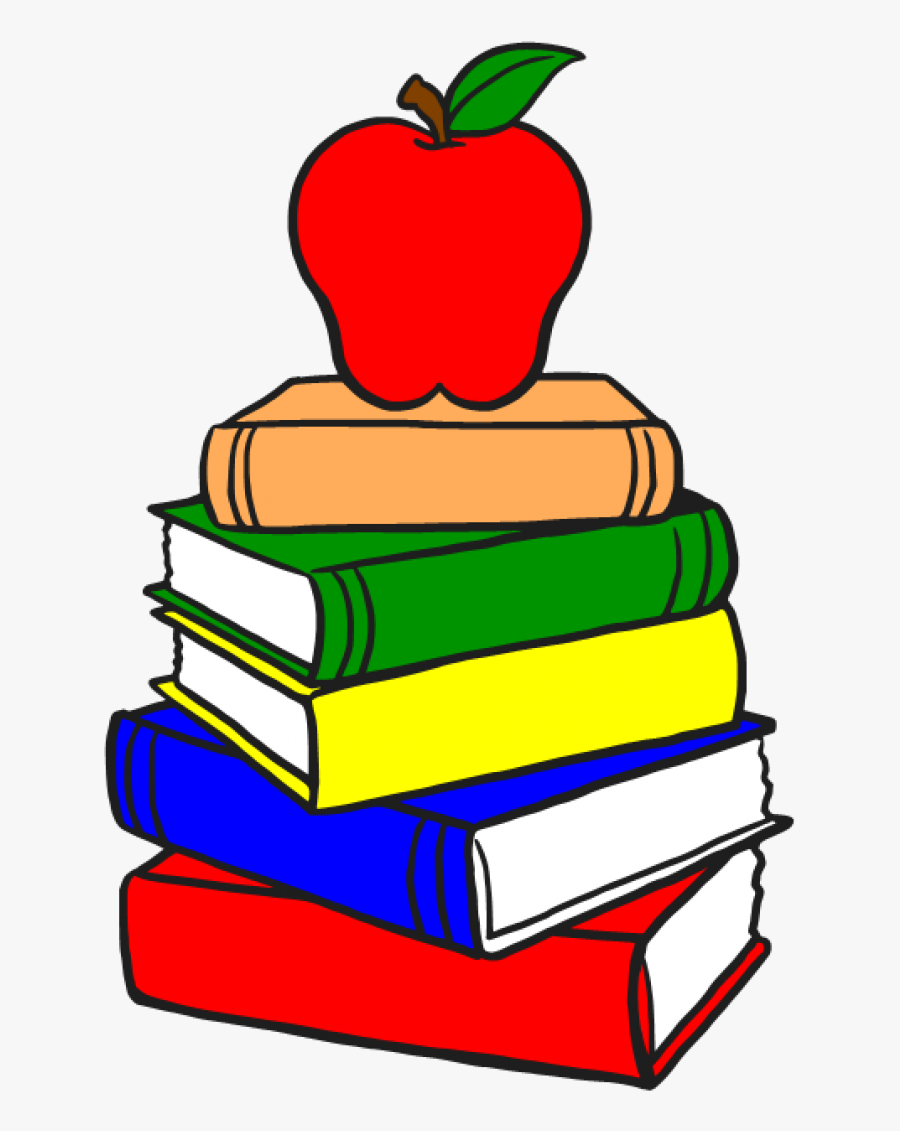 Stack Of Books Clipart, Transparent Clipart