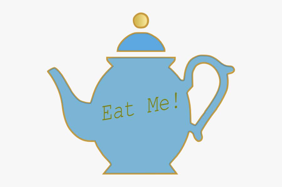 Mad Hatters Tea Pot, Transparent Clipart