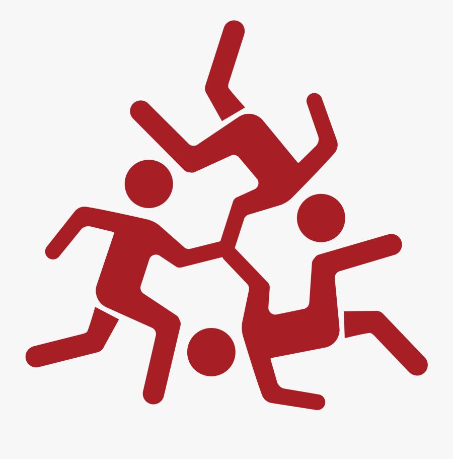 Transparent Teamwork Clipart - Team Building Icon Png, Transparent Clipart