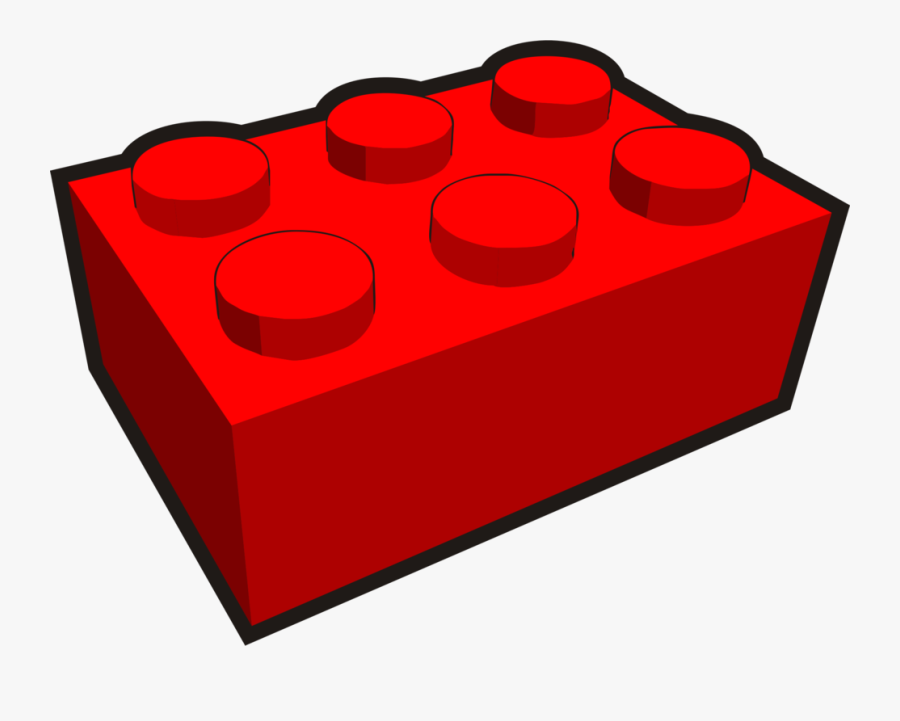 Building Block Plastic Toy - Clipart Kostenlos Baustein Grün, Transparent Clipart