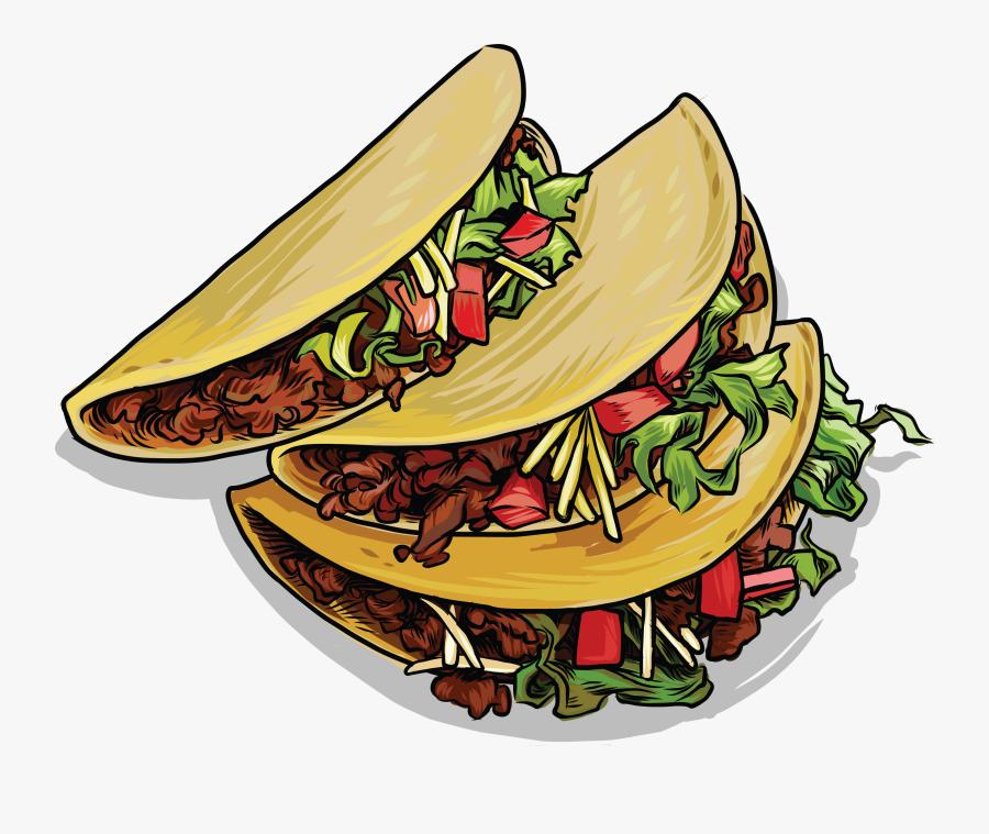 Transparent Tacos Mexicanos Png Mexican Tacos Clip Art Free Transparent Clipart Clipartkey