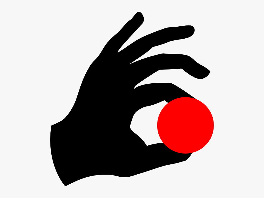 Hand Holding Ball Clipart Png - Hand Holding Ball Png, Transparent Clipart
