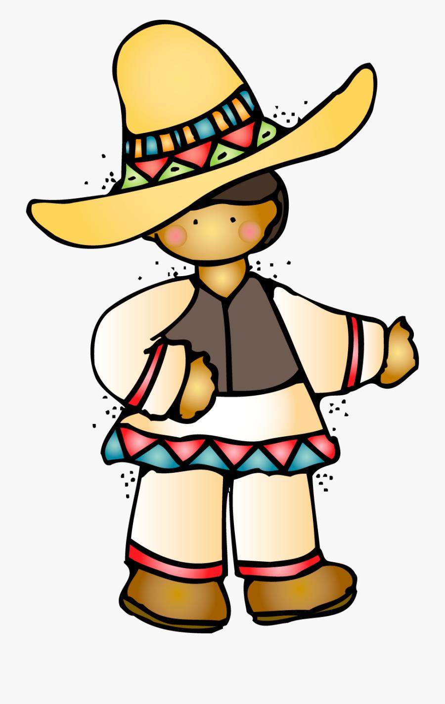 Cuisine Churro Mexicans Cartoon Clip Art Fiesta - Mexican Thank You Clipart, Transparent Clipart