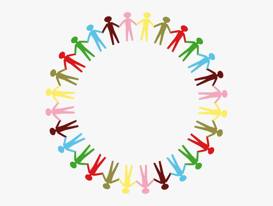 Transparent Teamwork Clipart Png - People Holding Hands Cartoon, Transparent Clipart