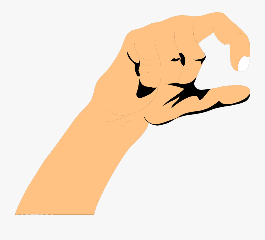 Dirt Clipart Hand Holding - Hand Holding Something Cartoon Png, Transparent Clipart