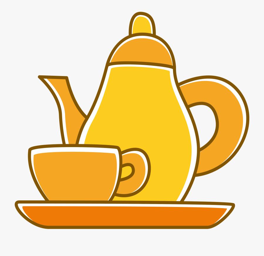 Transparent Teapot Clipart Vetor Cha De Panela Png Free