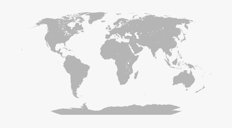Thumb Image - World Map With Divisions, Transparent Clipart