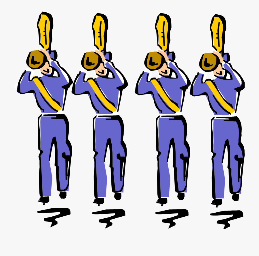 School Band Clip Art - Marching Band Clipart, Transparent Clipart