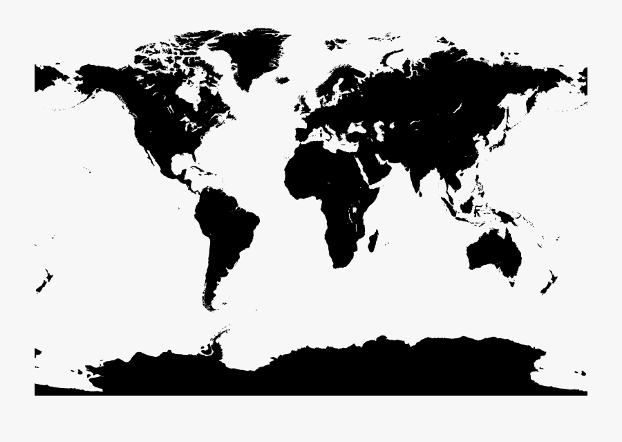 World Map Vector Map - World Map Vector Pdf, Transparent Clipart