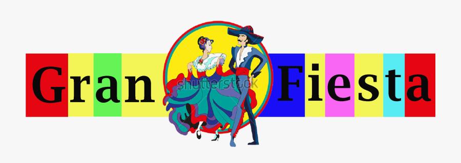 Gran Fiesta Eatery - Mexican Folk Dance Clip Art, Transparent Clipart
