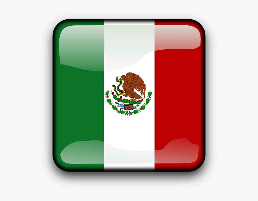 Mexican Flag Clip Art - Mexican Flag Drawing Easy, Transparent Clipart
