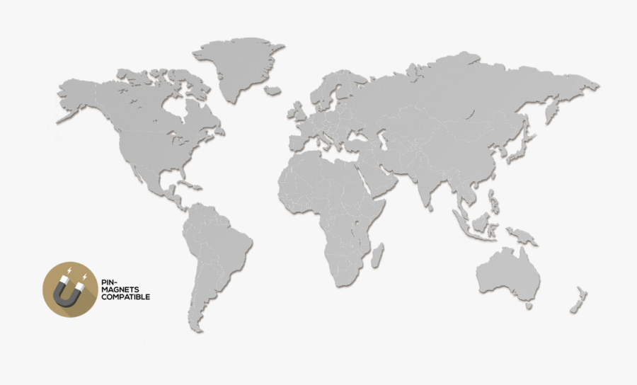 Hd What Is Your Top Choice - World Map In Wood, Transparent Clipart