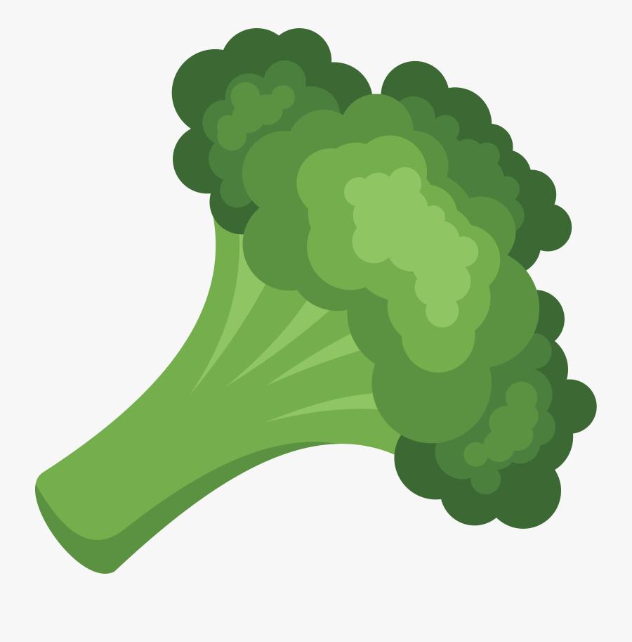 Transparent Brocoli Clipart - Cartoon Broccoli Png, Transparent Clipart