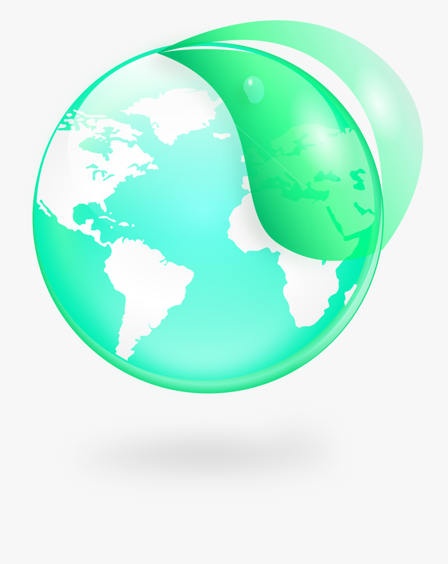 Apple Globe World Map Clipart - Open Doors World Watch Map, Transparent Clipart