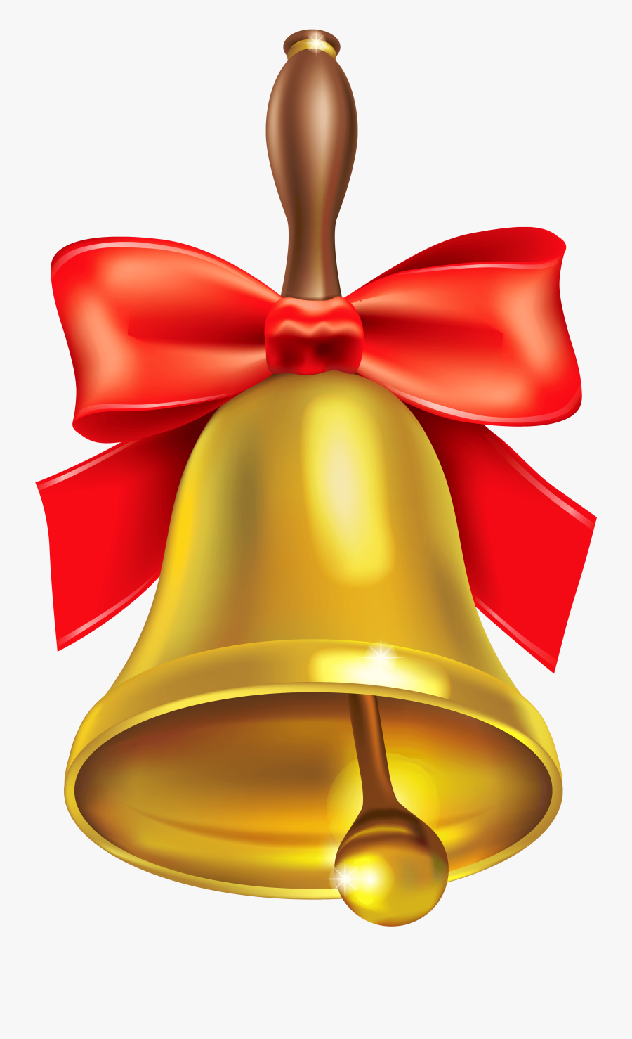 Bell Png Image - School Bell, Transparent Clipart