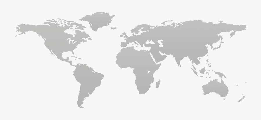 Transparent Clipart World Map Outline - Singapore Tiny Red Dot, Transparent Clipart