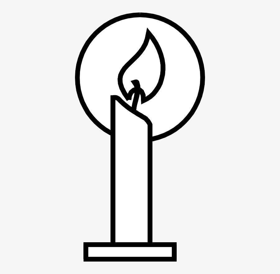Candles Christian Clipart - Symbol That Represents Jesus, Transparent Clipart