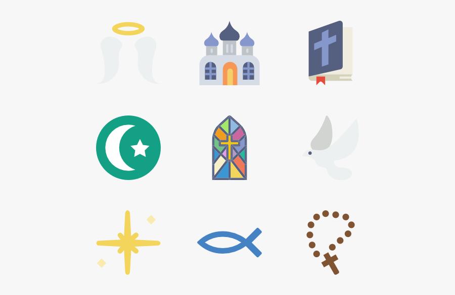 Packs Vector Svg - Religion, Transparent Clipart