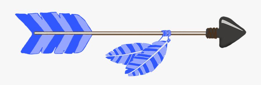 Blue Tribal Arrow Clipart - Clipart Tribal Cute Arrow, Transparent Clipart