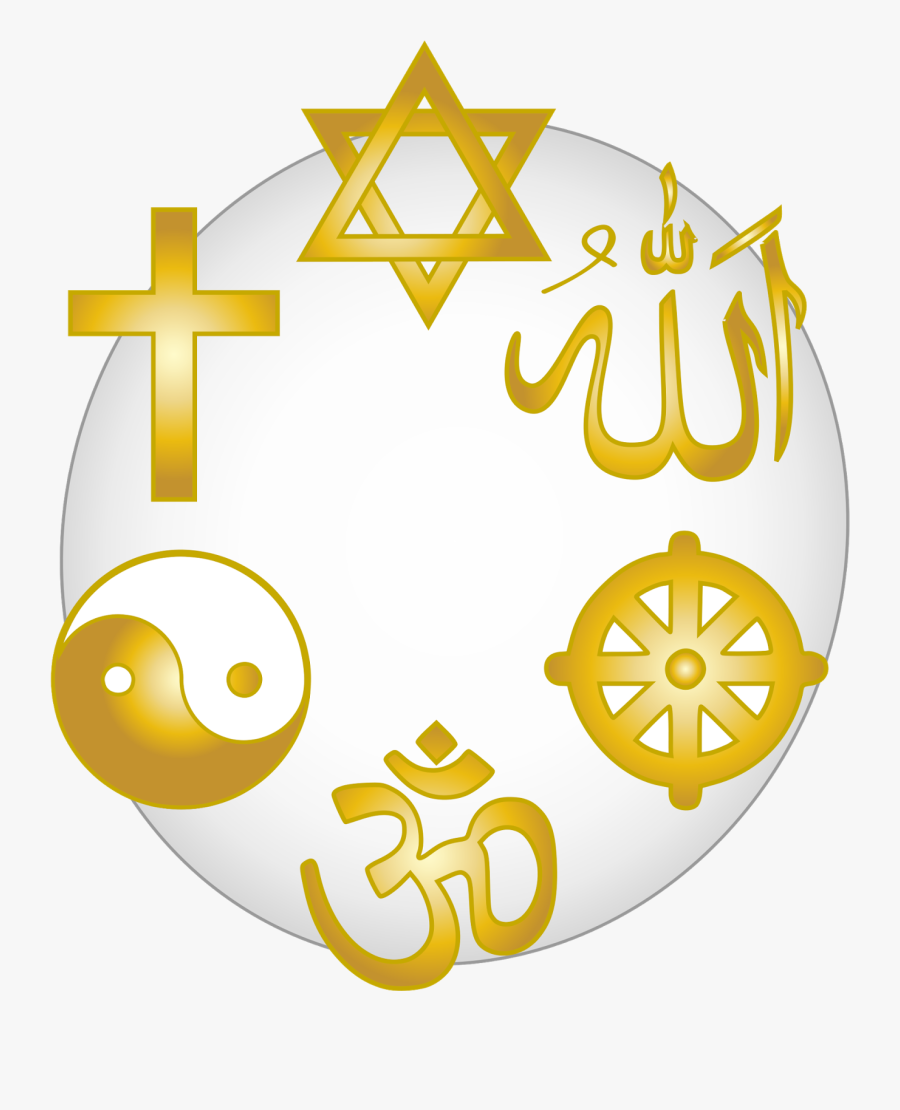 Religion Clipart - All Religion In One Locket, Transparent Clipart