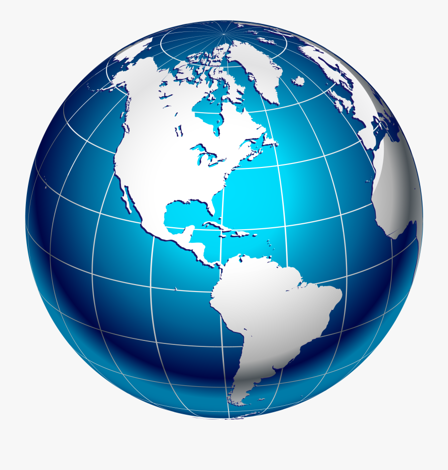 World Map Logo Clipart Best - Transparent Background World Globe Png, Transparent Clipart