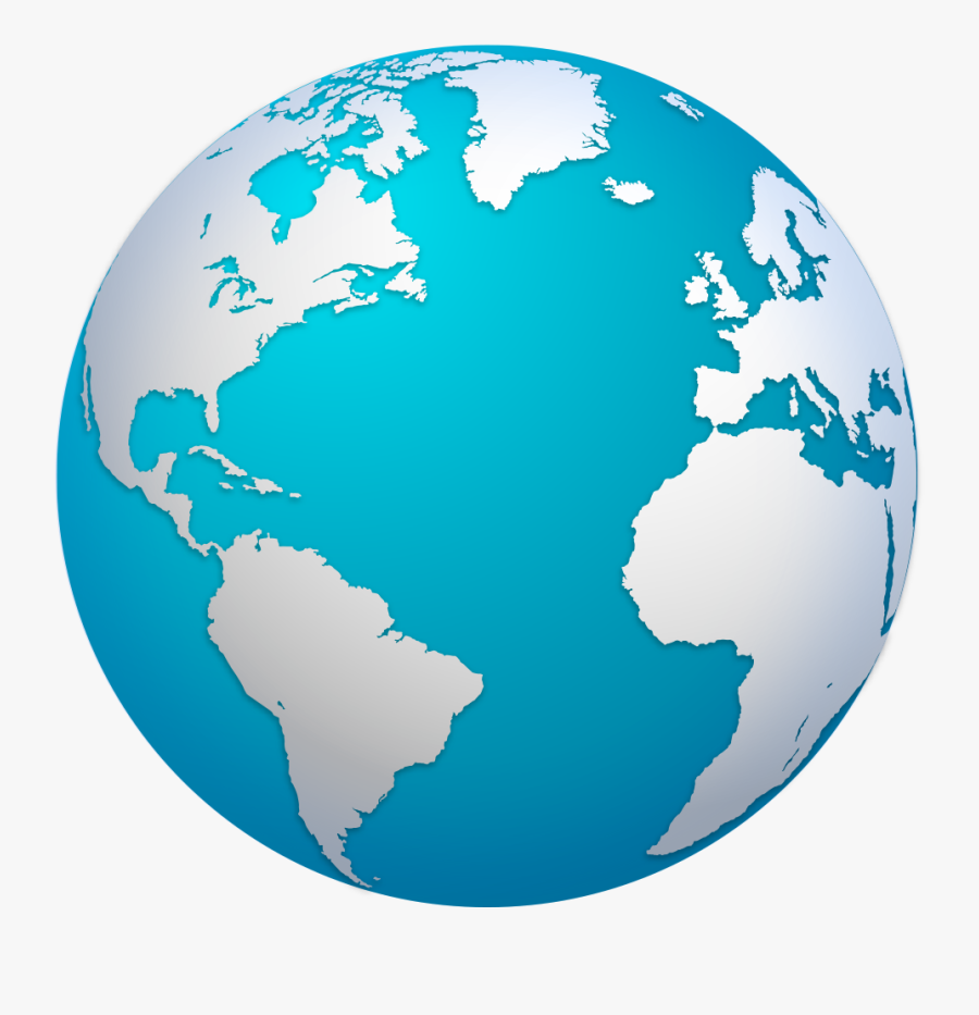 Earth Globe Map World Png File Hd Clipart - World Map Globe Png, Transparent Clipart