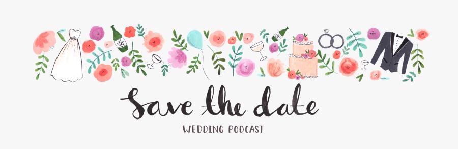 Wedding Bells Clipart Celebration - Wedding Save The Date Transparent Png, Transparent Clipart