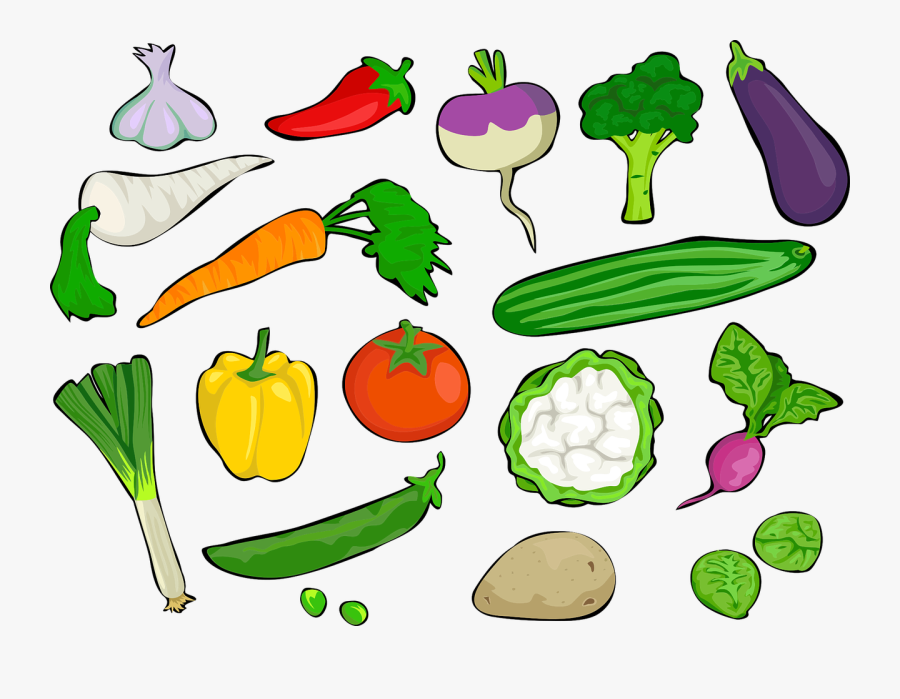 Bell Pepper, Broccoli, Brussels Sprouts, Carrot, Chile - Vegetables Clipart, Transparent Clipart