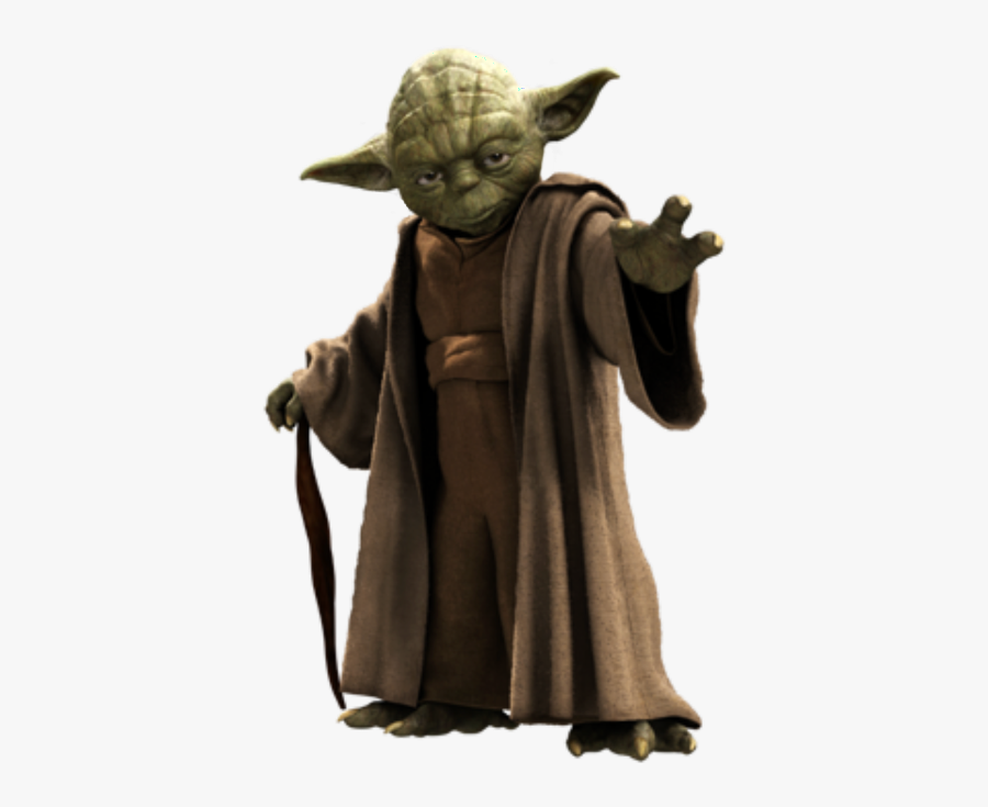 #yoda #starwars #master #freetoedit - Star Wars Yoda Png, Transparent Clipart