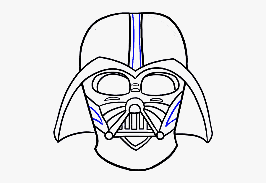 Collection Of Free Yoda Drawing Traceable Download - Darth Vader Picture To Draw, Transparent Clipart