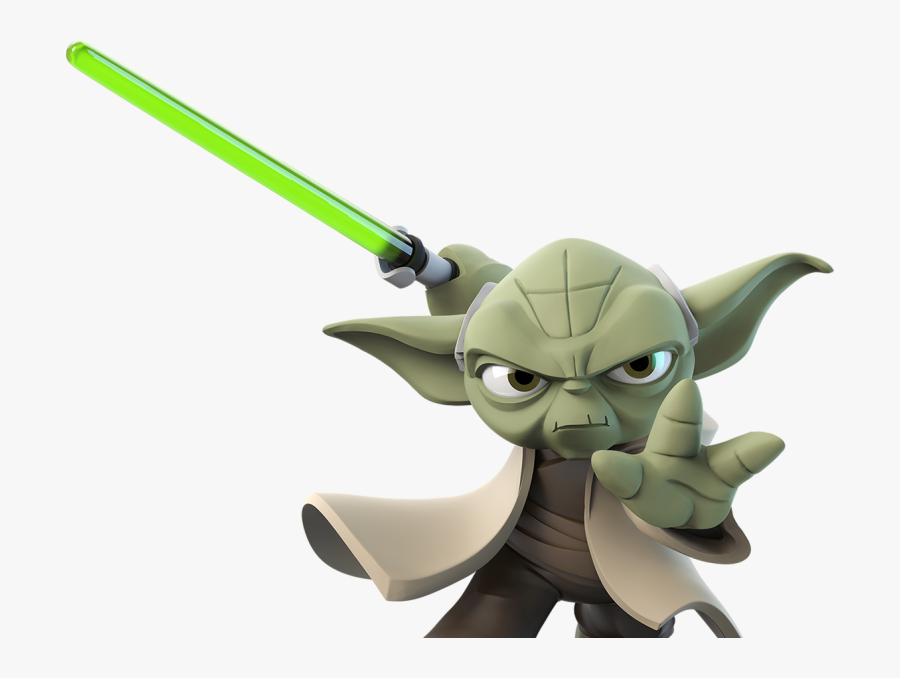 Disney Infinity - Disney Infinity Star Wars Yoda, Transparent Clipart
