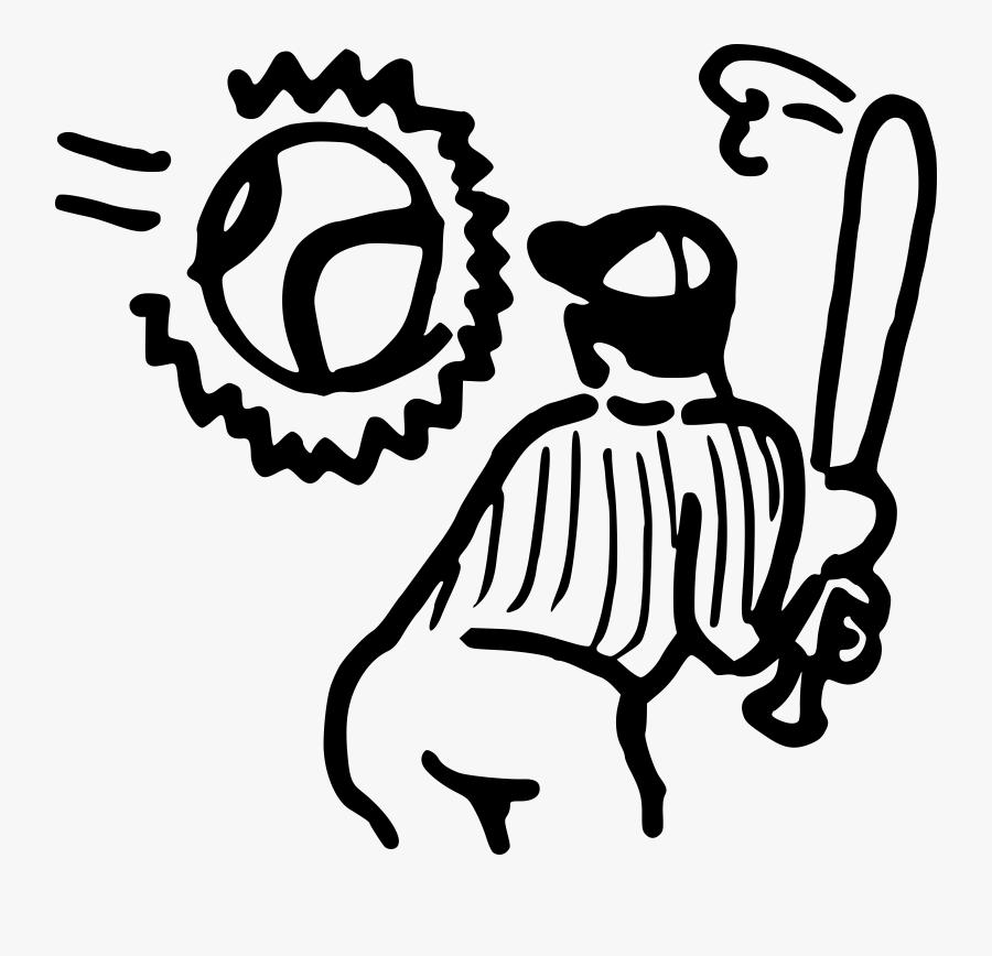 Clipart Book Baseball - Vector Graphics, Transparent Clipart