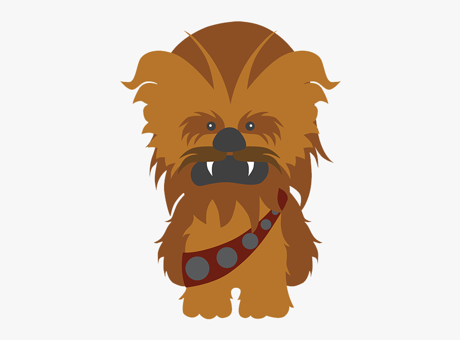 Wall Stickers For Kids - Star Wars Chewbacca Clipart, Transparent Clipart