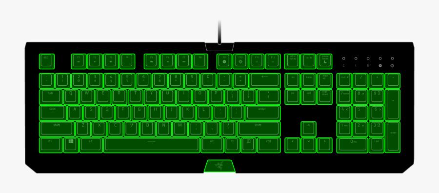 Blackwidow Te Chroma - Computer Keyboard, Transparent Clipart